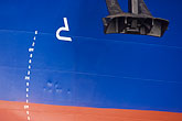 blue stock photography | Sweden, G�teborg, Container ship, image id 5-700-4897