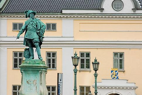 image 5-700-4936 Sweden, Goteborg, Statue of King Gustav Adolf
