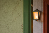 illuminated stock photography | Sweden, G�teborg, Lamp, image id 5-700-5851