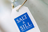blue stock photography | Sweden, West Sweden, Kl�desholmen, Salt and Sill restaurant, Aquavit, image id 5-710-2393