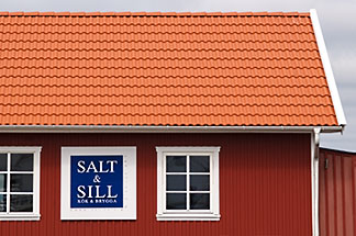 5-710-2416 stock photo of Sweden, West Sweden, Klädesholmen, Salt and Sill restaurant, Potatoes