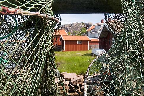 image 5-710-2508 Sweden, West Sweden, Fishing nets