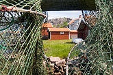 fishing nets stock photography | Sweden, West Sweden, Fishing nets, image id 5-710-2508
