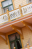 porch stock photography | Sweden, Marstrand, Grand Hotel, image id 5-710-5350