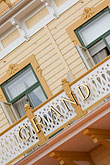 woodwork stock photography | Sweden, Marstrand, Grand Hotel, image id 5-710-5351