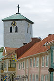 steeple stock photography | Sweden, Marstrand, Church, image id 5-710-5411