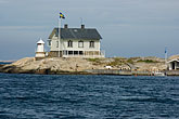 coast stock photography | Sweden, Marstrand, Lighthouse, image id 5-710-5420
