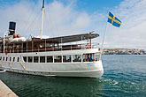 harbour stock photography | Sweden, Marstrand, Ferry, image id 5-710-5448