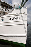 white stock photography | Sweden, Stockholm, Juno cruise ship of Gota Canal, image id 5-720-2613