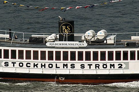image 5-720-2679 Sweden, Stockholm, Harbor ferry