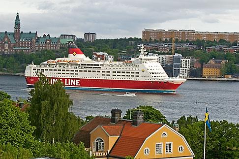 image 5-720-2728 Sweden, Stockholm, Cruise ship