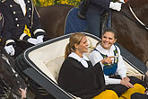 horse and carriage stock photography | Sweden, Stockholm, Princess Victoria and Princess Madeleine, image id 5-720-2787