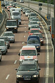 roadway stock photography | Transportation, Traffic on the motorway, image id 5-720-2874