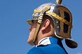 helmet stock photography | Sweden, Stockholm, Palace Guard, image id 5-720-2988