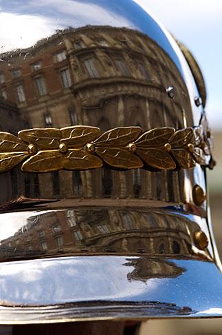 image 5-720-3002 Sweden, Stockholm, Palace Guard, helmet
