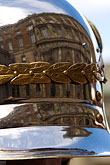 reflection stock photography | Sweden, Stockholm, Palace Guard, helmet, image id 5-720-3002