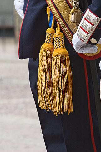 image 5-720-3148 Sweden, Stockholm, Palace Guard