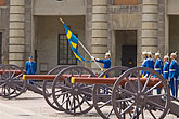 palace guard stock photography | Sweden, Stockholm, Changing of the guards, image id 5-720-3226