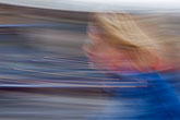 blurred motion stock photography | Sweden, Stockholm, Bicyclist, image id 5-720-3297