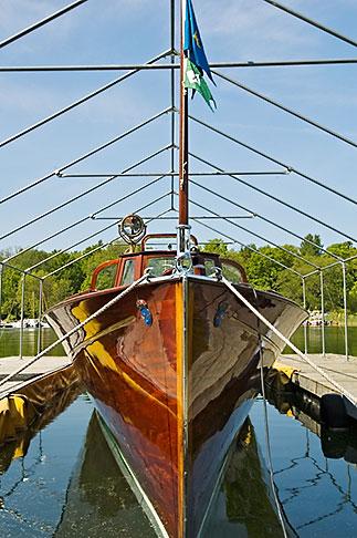 image 5-720-3873 Sweden, Gustavsberg, Historic wooden boat