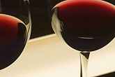 cellar stock photography | Wine, Glasses of red wine, image id 5-720-3907