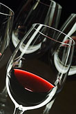 close up stock photography | Wine, Glasses of red wine, image id 5-720-3921