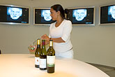 woman stock photography | Sweden, Stockholm, Nordic Light Hotel, Wine tasting, image id 5-720-3932