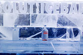white stock photography | Sweden, Stockholm, Nordic Light Hotel, Absolut Ice Bar, image id 5-720-3937