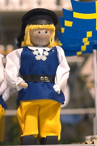 image 5-720-4035 Sweden, Stockholm, Souvenir doll