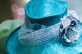 blue stock photography | Sweden, Stockholm, Hat in shop, image id 5-720-4066