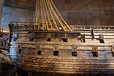 warship stock photography | Sweden, Stockholm, Vasa Ship Museum, image id 5-720-4178