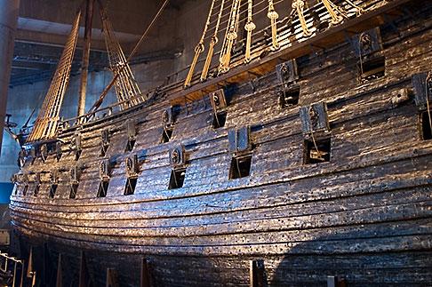 image 5-720-4179 Sweden, Stockholm, Vasa Ship Museum