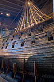 sailing ship stock photography | Sweden, Stockholm, Vasa Ship Museum, image id 5-720-4180