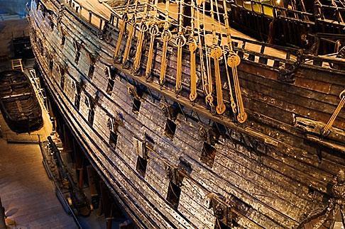 image 5-720-4191 Sweden, Stockholm, Vasa Ship Museum