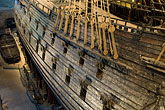 warship stock photography | Sweden, Stockholm, Vasa Ship Museum, image id 5-720-4191