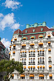 blue sky stock photography | Sweden, Stockholm, Hotel Diplomat, image id 5-720-4208