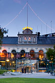 outdoor cafe stock photography | Sweden, Stockholm, Berns Hotel, image id 5-720-4219