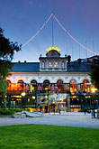 illuminated stock photography | Sweden, Stockholm, Berns Hotel, image id 5-720-4220
