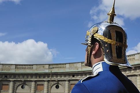 image 5-720-5987 Sweden, Stockholm, Palace guard