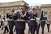 helmet stock photography | Sweden, Stockholm, Band, Changing of the guard, image id 5-720-6063