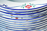 floral pattern stock photography | Still life, Porcelain plates, image id 5-720-6799