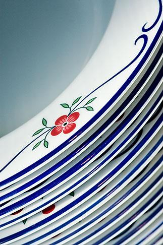 image 5-720-6805 Still life, Porcelain plates