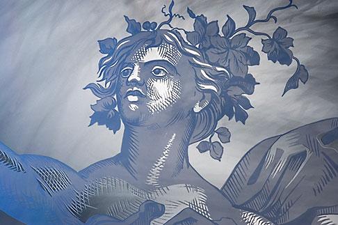 image 5-720-7073 Sweden, Stockholm, Berns Hotel, Etched Glass figure