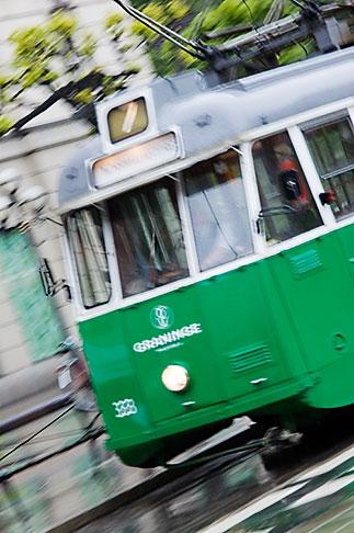 image 5-720-7103 Sweden, Stockholm, Tram