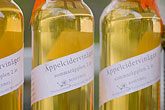 wine bottle stock photography | Sweden, Apple cider bottles, image id 5-720-7164