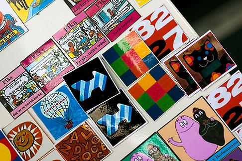 image 5-720-7217 Sweden, Stockholm, Street Market, Magnets
