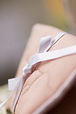 hand crafted stock photography | Textiles, Pillow with ribbon, image id 5-720-7254