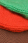 fabric stock photography | Sweden, Stockholm, Street Market, Wool hats, image id 5-720-7265