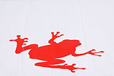 frog stock photography | Sweden, Stockholm, Red frog awning, image id 5-720-7317