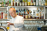 barman stock photography | Sweden, Stockholm, Lydmar Hotel, bar , image id 5-720-7502